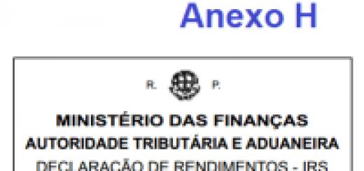Anexo IRS 2016