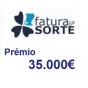 Factura da Sorte Prémio 35.000€